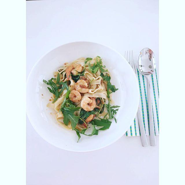 Eine leckere schnelle Sommer Pasta von Jamie Oliver - getestet im Kochbuchtest von Kuchen oder Weltfrieden.