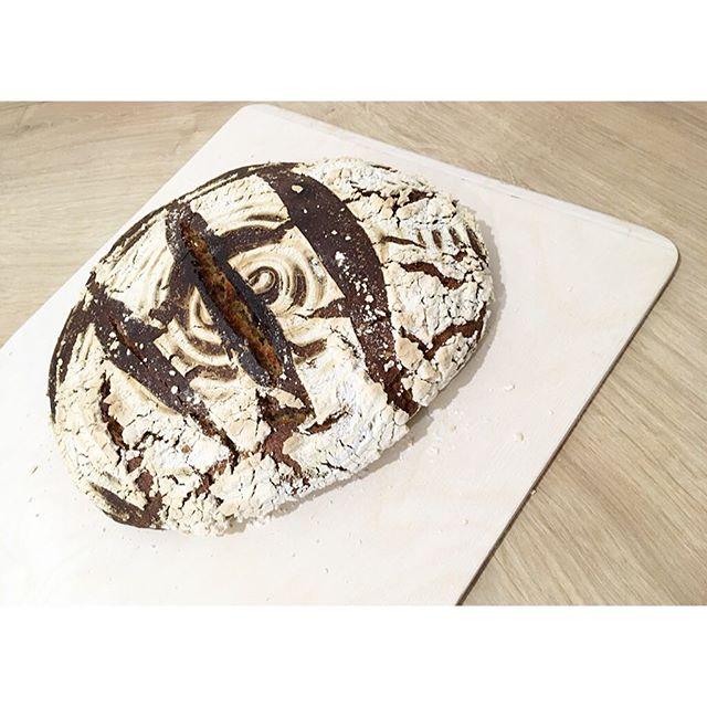 Ich bin sehr unsicher, ob das Brot gelungen ist.