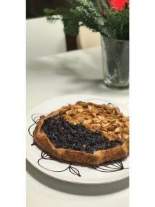 Blaubeer Thymian Tarte aus Modern Baking