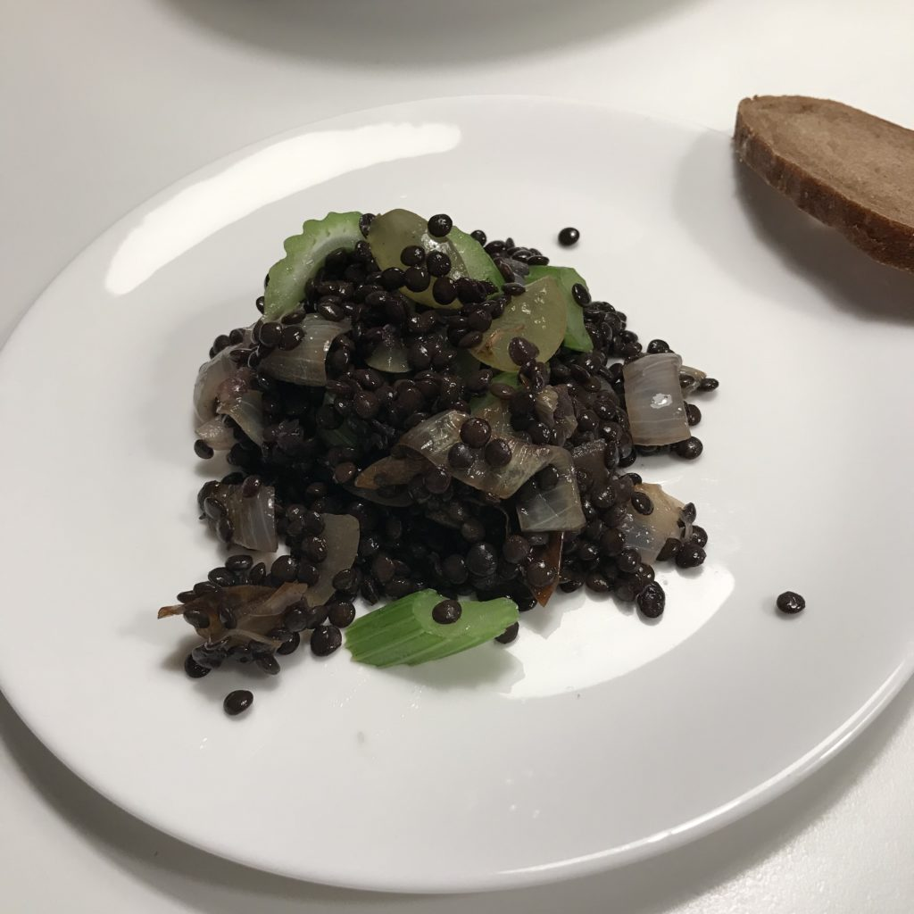 """Linsensalat aus """"Das Glück der einfachen Küche"""""""